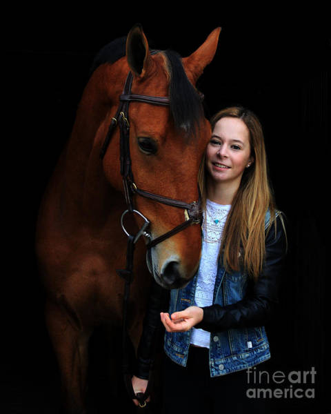 Photograph - Christine Stewie 1 by Life With Horses
