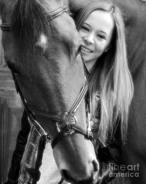 Photograph - Christine Stewie 12 by Life With Horses