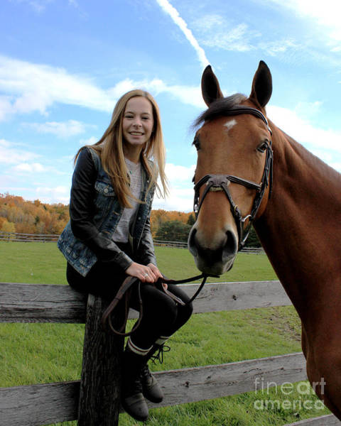 Photograph - Christine Stewie 16 by Life With Horses