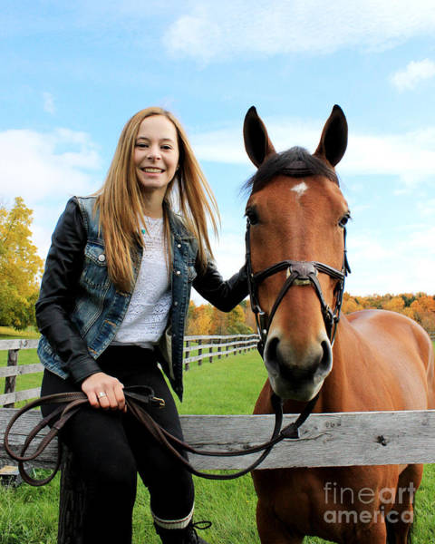 Photograph - Christine Stewie 17 by Life With Horses