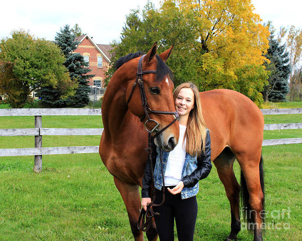 Photograph - Christine Stewie 18 by Life With Horses