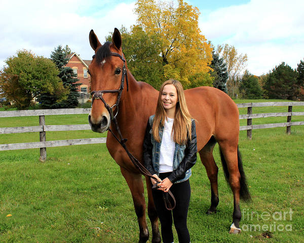 Photograph - Christine Stewie 19 by Life With Horses