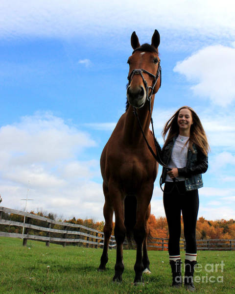 Photograph - Christine Stewie 23 by Life With Horses