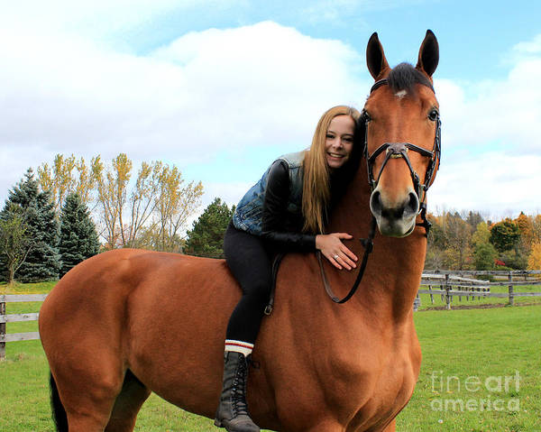 Photograph - Christine Stewie 27 by Life With Horses