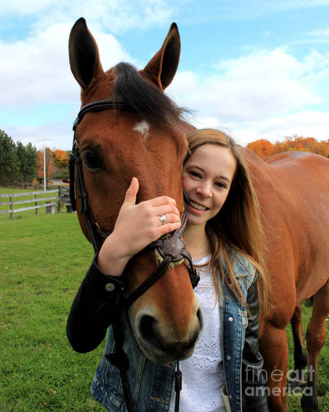 Photograph - Christine Stewie 28 by Life With Horses