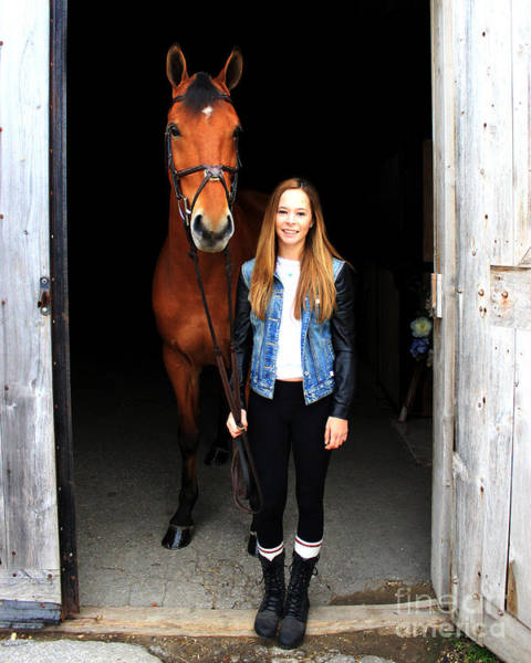 Photograph - Christine Stewie 3 by Life With Horses