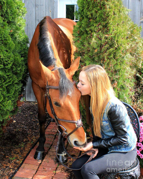Photograph - Christine Stewie 4 by Life With Horses