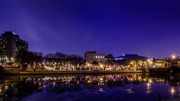 Photograph - Christmas At Pere Marquette Park by Randy Scherkenbach