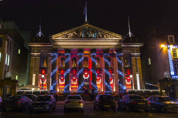 Photograph - Christmas At The Dome by Ross G Strachan
