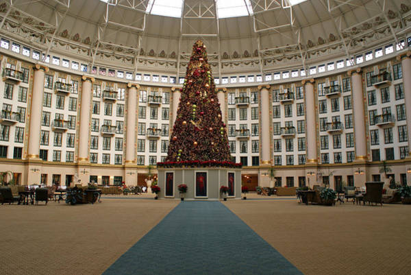 Photograph - Christmas At West Baden by Sandy Keeton