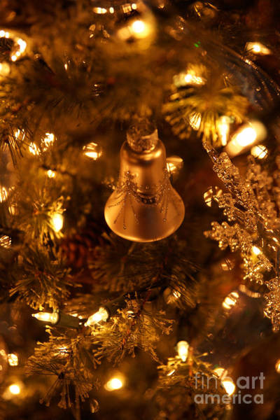 Photograph - Christmas Bell by Linda Shafer