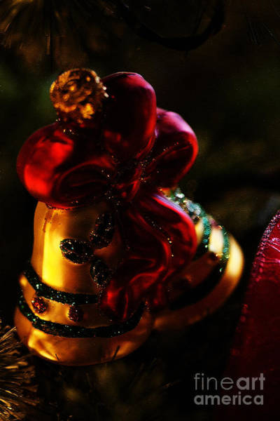 Photograph - Christmas Bells by Linda Shafer