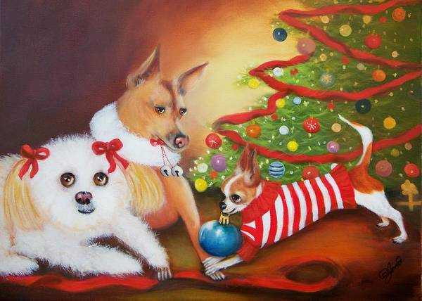 Painting - Christmas Blessings by Joni McPherson
