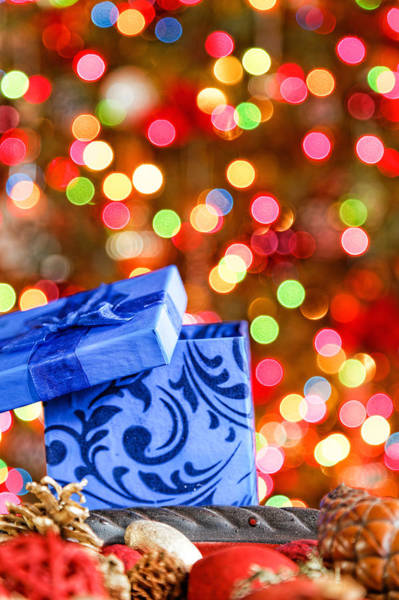 Photograph - Christmas Box by Peter Lakomy