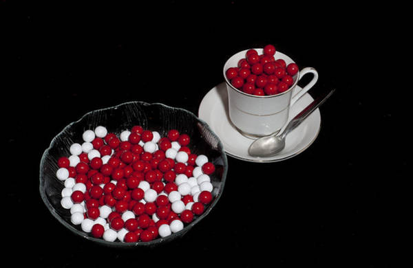 Photograph - Christmas Candy by Melany Sarafis