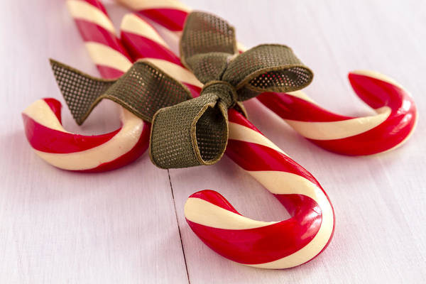 Photograph - Christmas Candy by Teri Virbickis