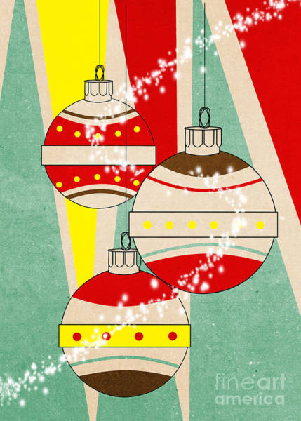 Christmas Card Painting - Christmas Card 6 by Mark Ashkenazi