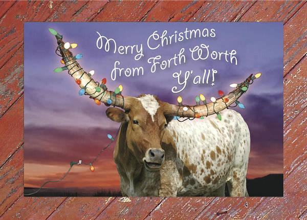 Ft Worth Wall Art - Photograph - Christmas  Ft.worth, Texas by Robert Anschutz
