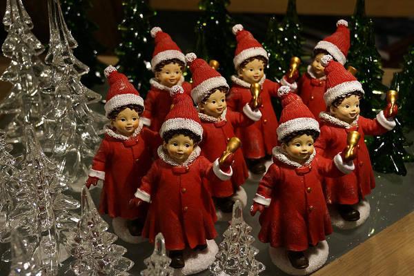 Carol Singing Photograph - Christmas Carolers by Inge Riis McDonald