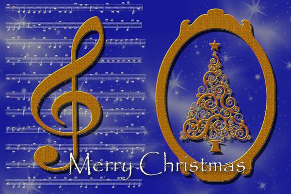 Digital Art - Christmas Carols by Randi Grace Nilsberg