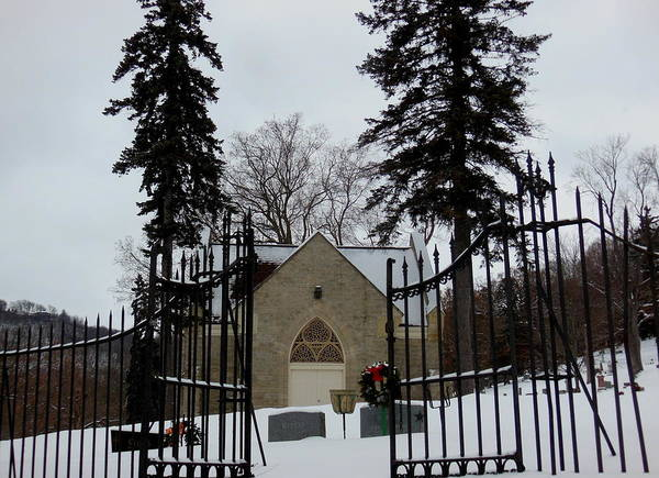 Photograph - Christmas Chapel by Wild Thing