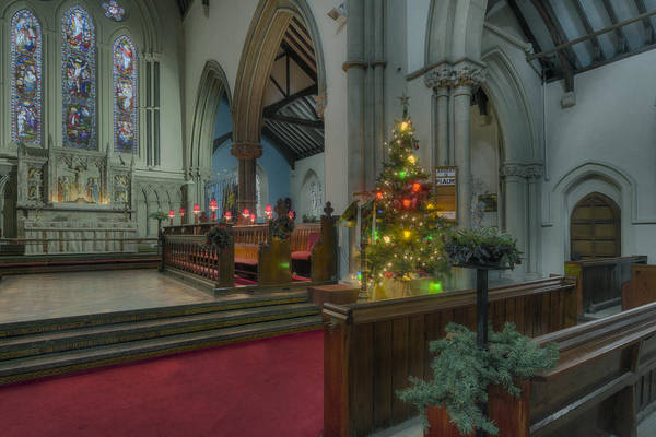 Photograph - Christmas Church  by Ian Mitchell