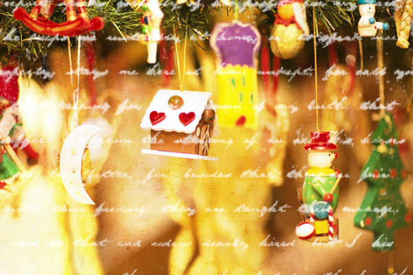 Little Things Photograph - Christmas Decoration by Thomas Zadrazil