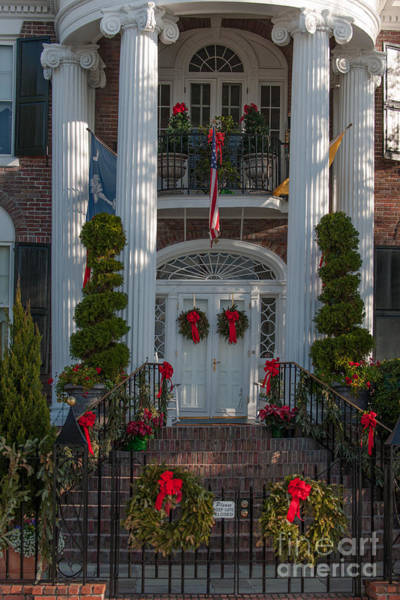 Photograph - Christmas Entrance by Dale Powell