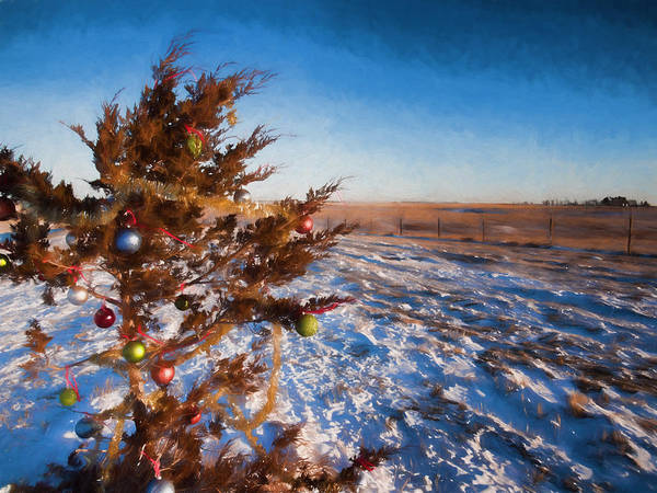 Photograph - Christmas Eve On The Prairie by HW Kateley