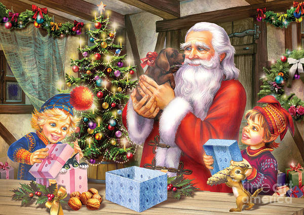 Wall Art - Digital Art - Christmas Eve by MGL Meiklejohn Graphics Licensing