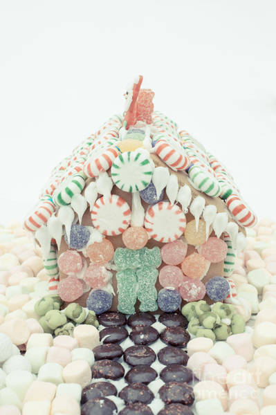 Wall Art - Photograph - Christmas Gingerbread House by Edward Fielding