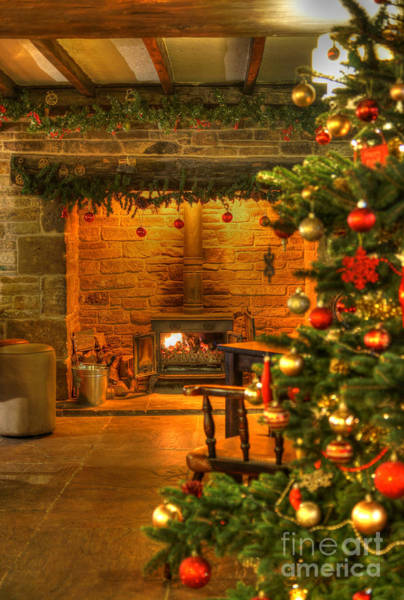 Photograph - Christmas Glow by David Birchall