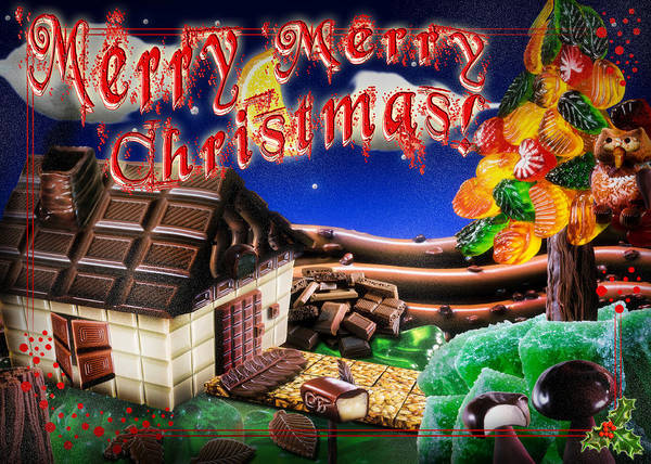 Digital Art - Christmas Greeting Card Iv by Alessandro Della Pietra