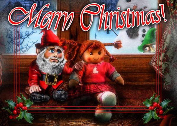 Digital Art - Christmas Greeting Card Vii by Alessandro Della Pietra