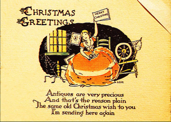 Photograph - Christmas Greetings by Richard Reeve