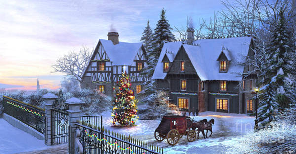 Wall Art - Digital Art - Christmas Homecoming by Dominic Davison