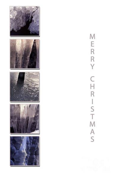 Photograph - Christmas Icicles by Randi Grace Nilsberg