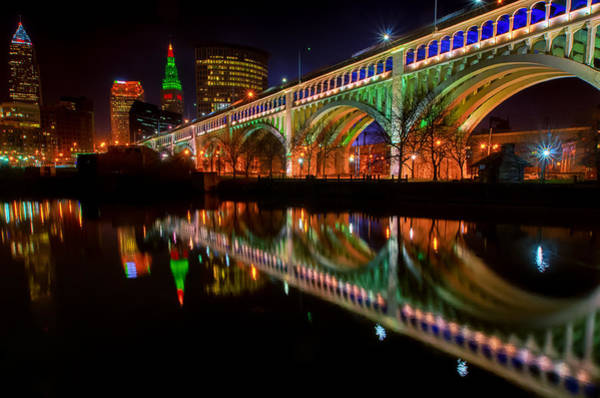 Photograph - Christmas In Cleveland by Richard Kopchock