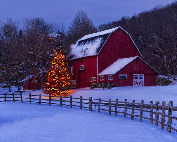 Photograph - A Very Connecticut Christmas by John Vose