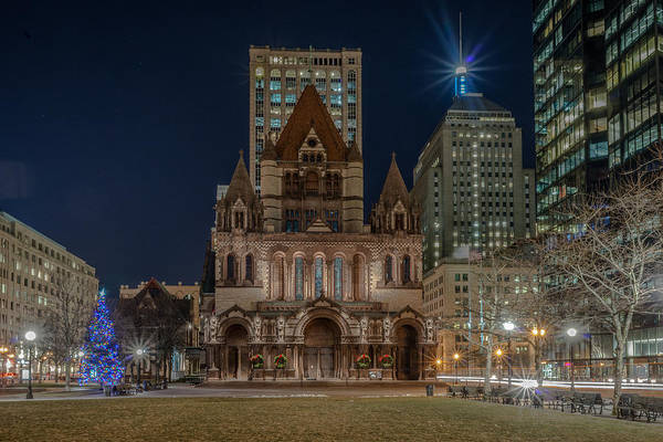 Photograph - Christmas In Copley  by Bryan Xavier