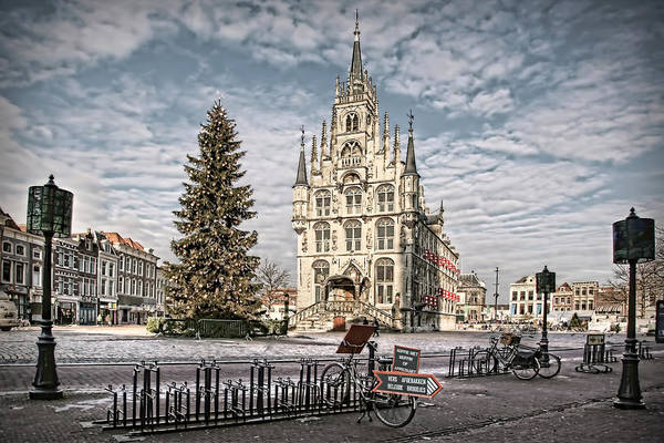 Photograph - Christmas In Gouda by Annie Snel