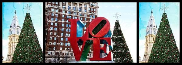 Photograph - Christmas In Philadelphia by Alice Gipson