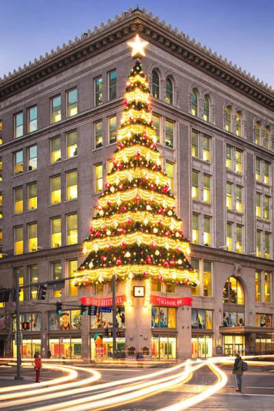 Christmas In Pittsburgh  Art Print