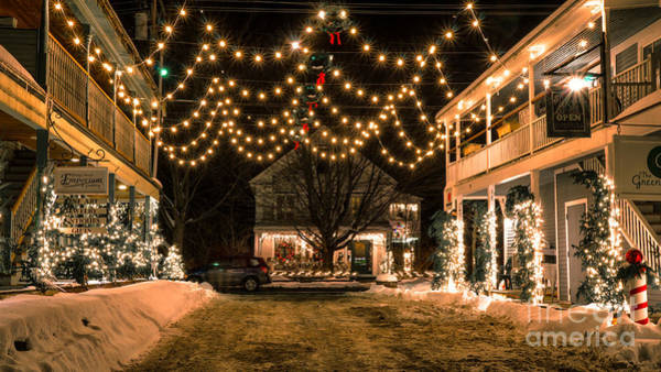 Waitsfield Photograph - Christmas In Waitsfield Vermont. by New England Photography