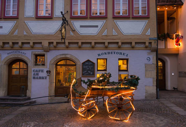 Photograph - Christmas In Waldenbuch Germany by Matthias Hauser