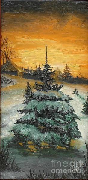 Painting - Christmas Is Coming by Sorin Apostolescu