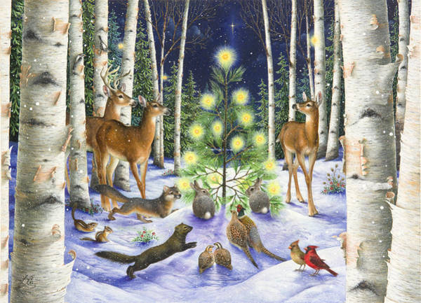Christmas Magic Art Print