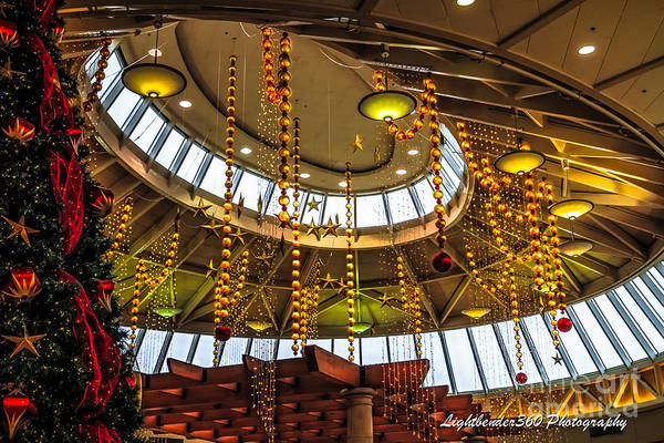 Photograph - Christmas Mall by Larry McMahon