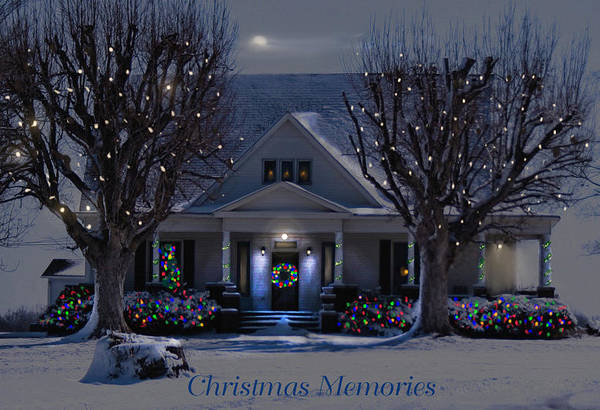 Photograph - Christmas Memories2 by Bonnie Willis