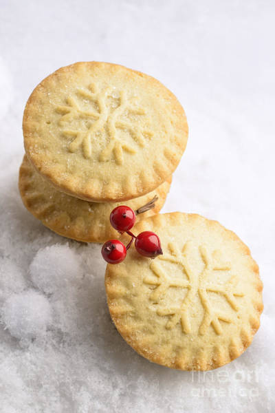 Wall Art - Photograph - Christmas Mince Pies by Amanda Elwell
